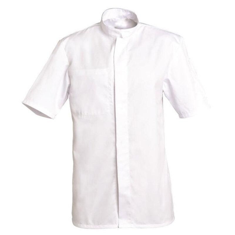 Veste blanche manches courtes Lucas