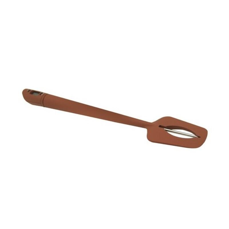 Spatule thermomètre silicone 32 cm