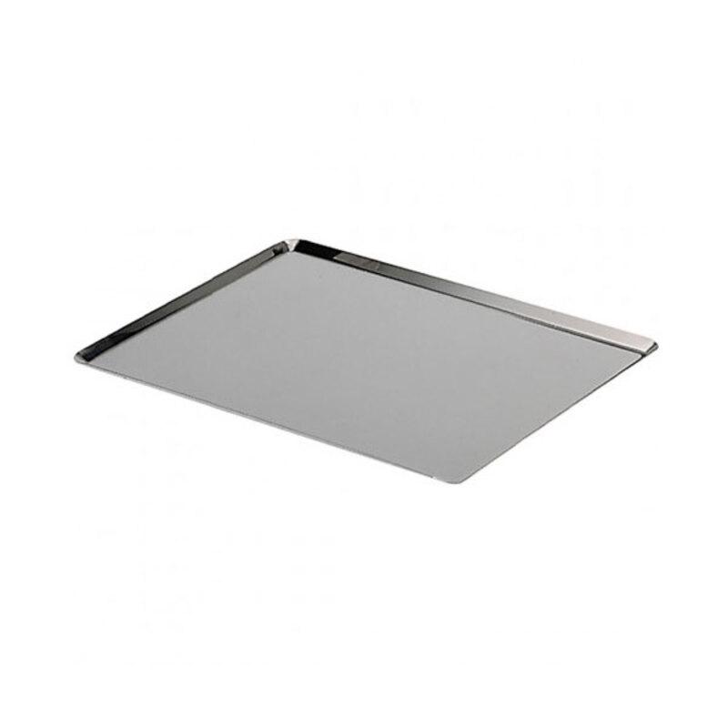Plaque de cuisson bords pincés inox 60 x 40 cm De Buyer