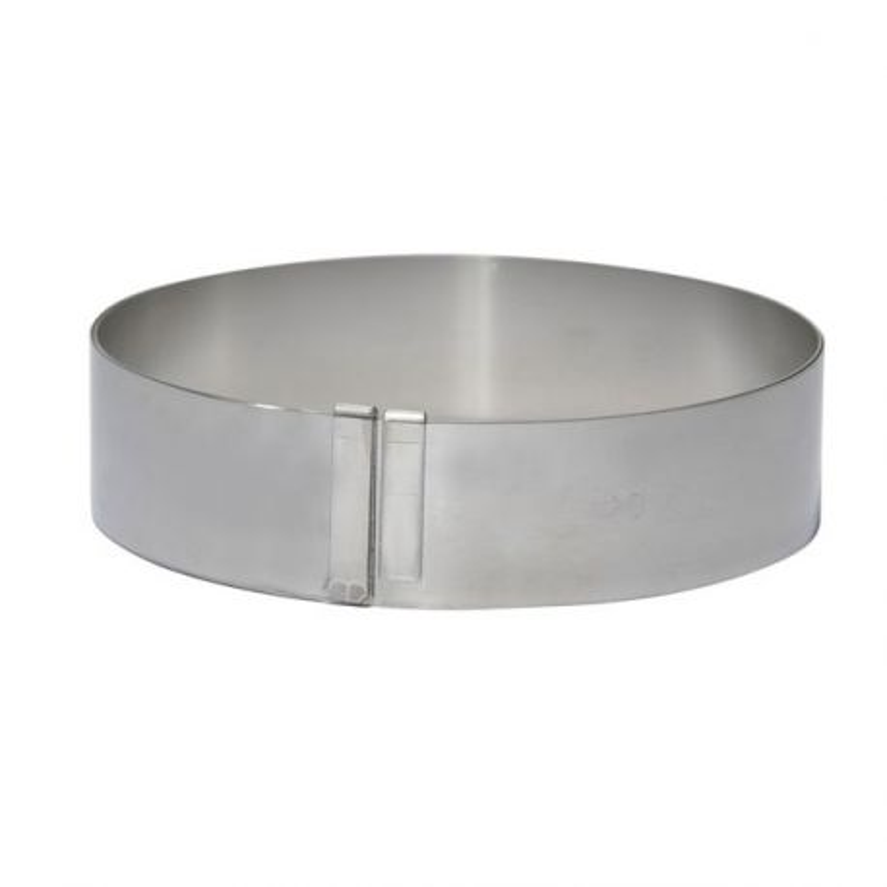 Cercle gradué inox extensible 18 à 36 cm