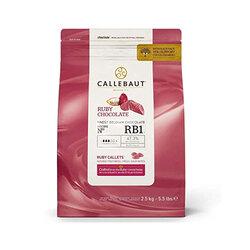 Chocolat de couverture Ruby 33,6% Barry 400 g