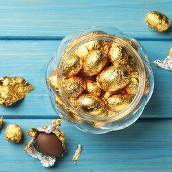 Papier emballage bonbon doré Patisdécor (x50 feuilles)