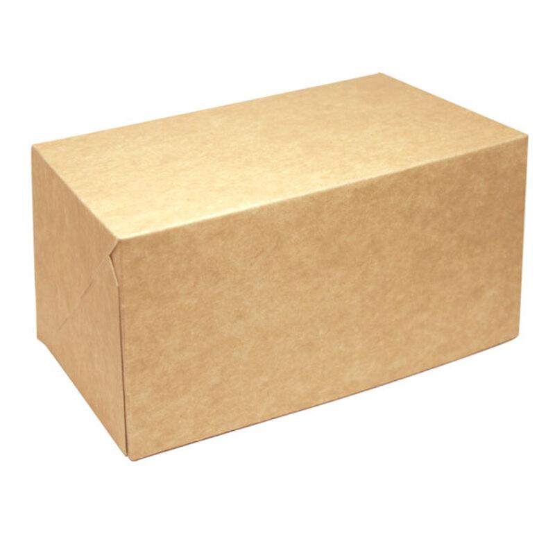 Boîte à bûche Kraft (x25)