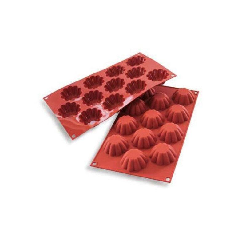 Moule silicone 12 mini-briochettes
