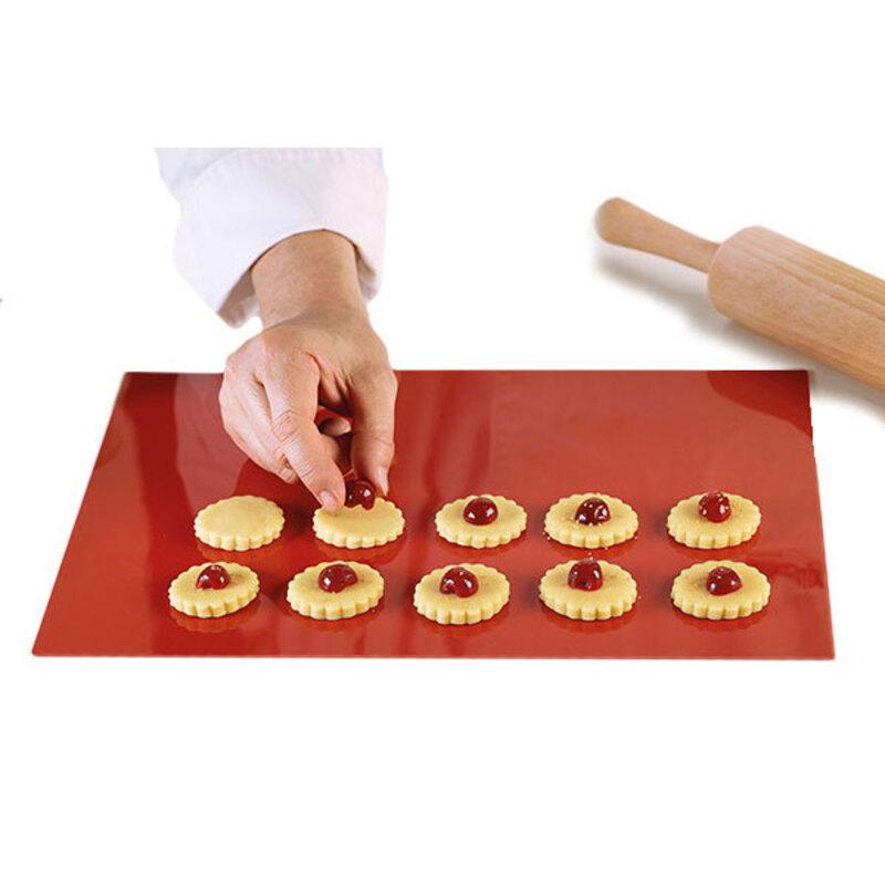 Tapis pâtisserie silicone plein 60 x 40 cm