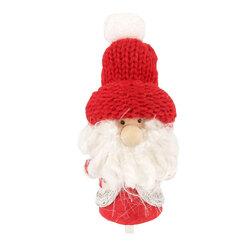 Père Noël bonnet rouge Patisdécor