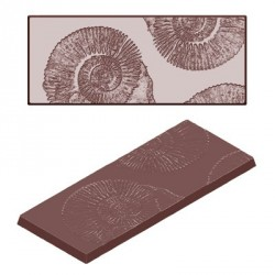 Moule tablettes chocolat Fossile 28g