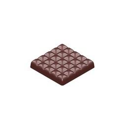 Moule Plaque Chocolat Carré Matelassé 86 g