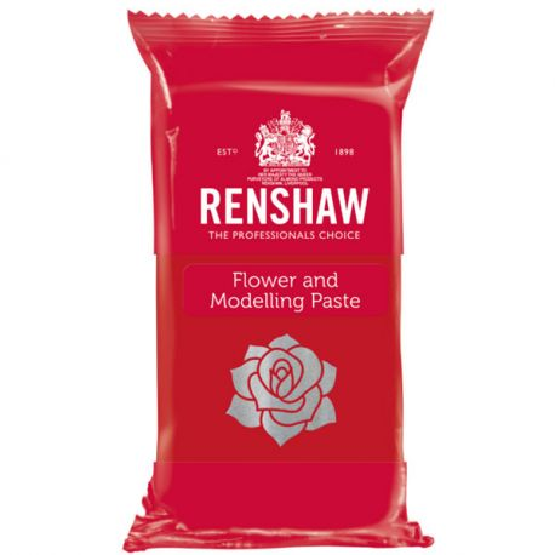 Gumpaste Rouge Oeillet Renshaw 250 g
