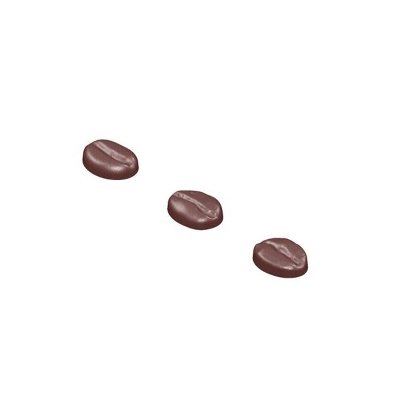 Moule Grains de café en chocolat