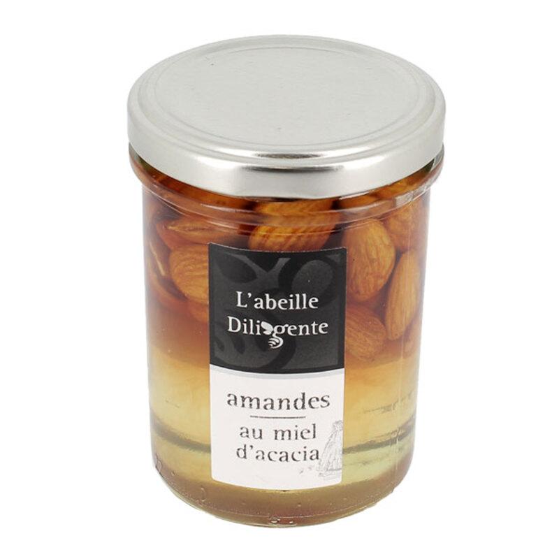 Amandes au miel d'acacia L'Abeille Diligente 250 g