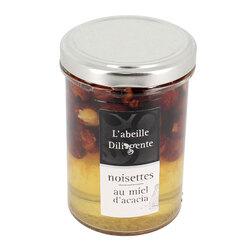 Noisettes au miel d'acacia L'Abeille Diligente 250 g