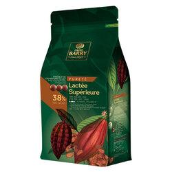 Chocolat de Couverture lactée supérieure 38% 5 kg