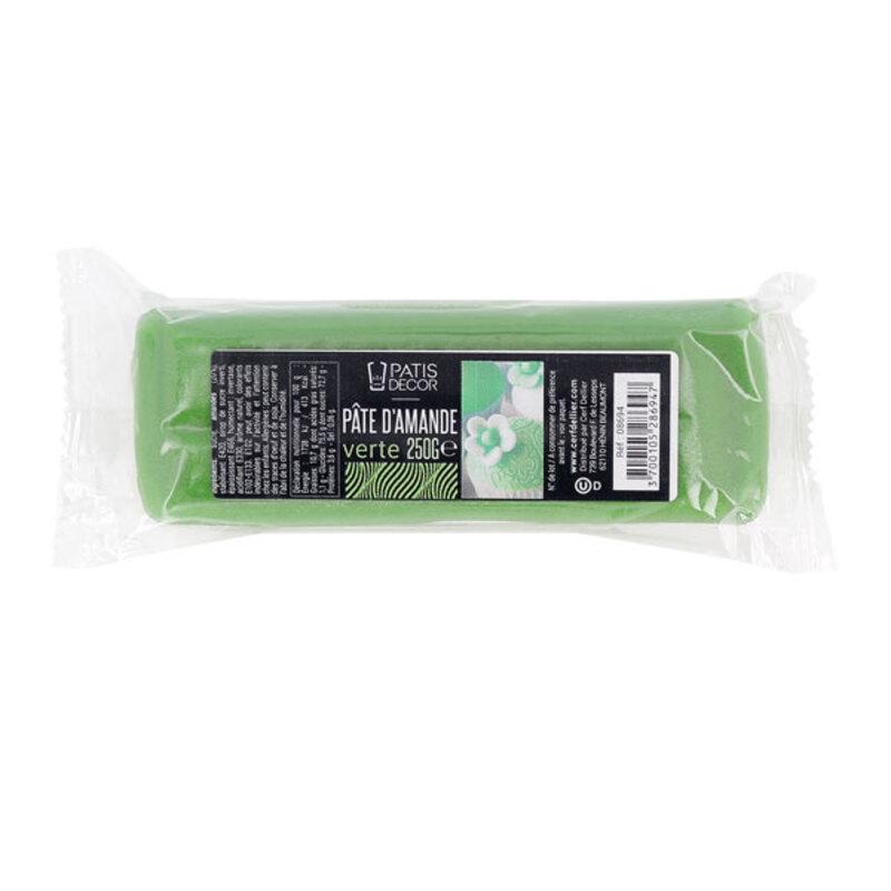 Pâte d'amande Verte Patisdécor 250g