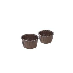 Caissette cuisson en carton marron (x250)