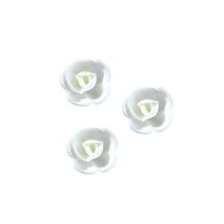Mini-rose blanche (x72)
