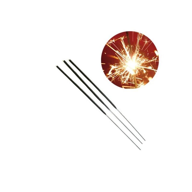 Cierge magique 30 cm durée 70' (x 10)