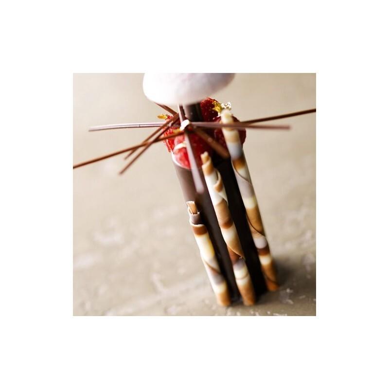 Bâtons de chocolat rayés Barry