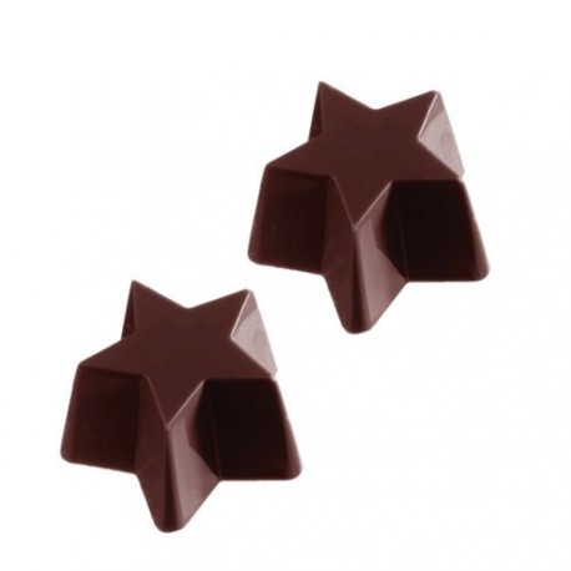 Moule à chocolat bonbons Etoiles