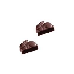 Moule chocolat friture Lapins