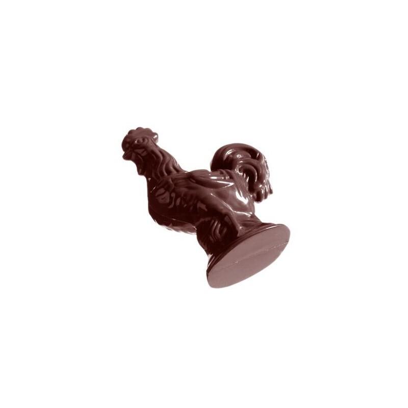 Moule chocolat coqs 9 cm