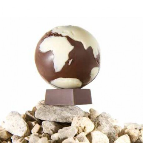 Moule  chocolat Globes Terrestres