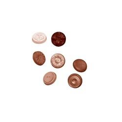 Moule chocolats boutons