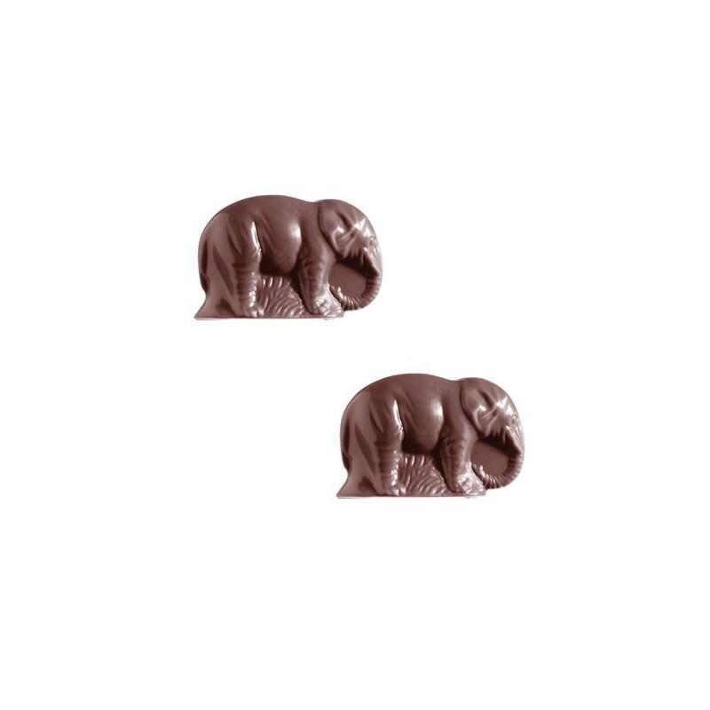 Moule chocolats éléphants