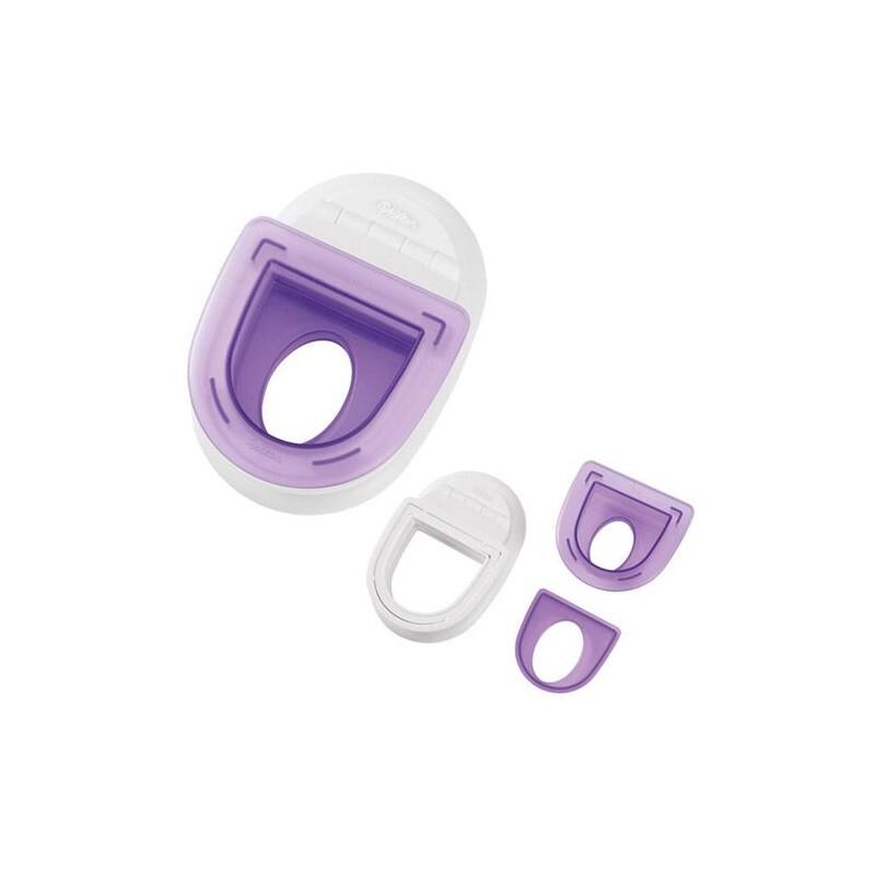 Set emporte-pièces Wilton insert ovale