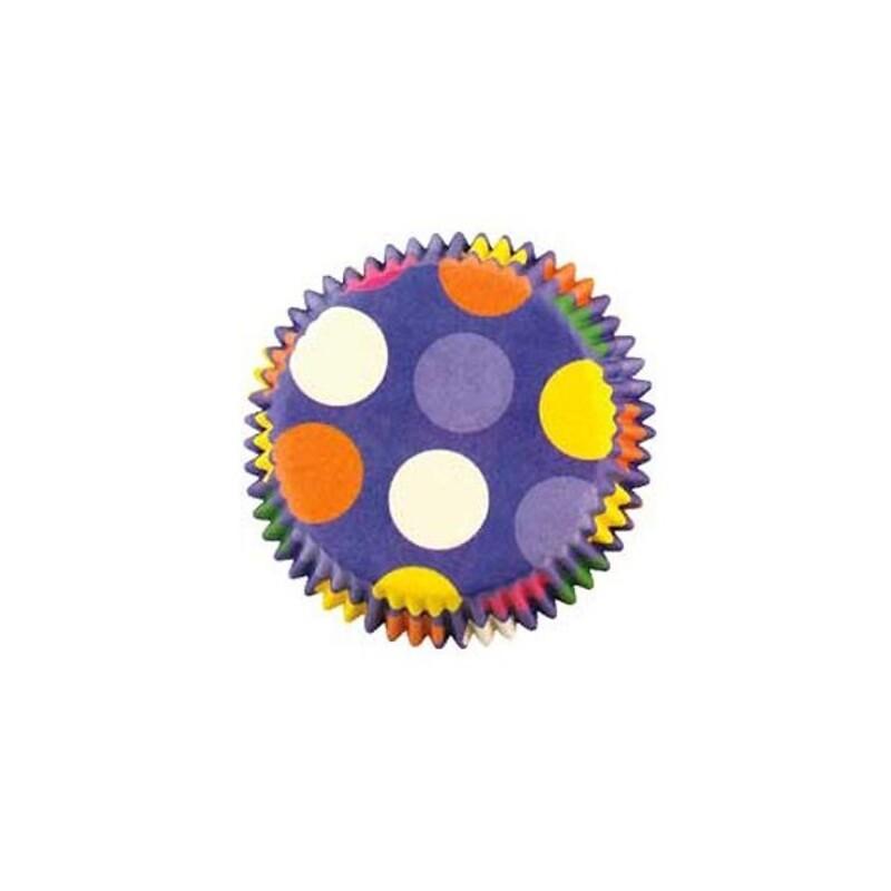 Caissettes cupcakes à pois Wilton (x50)