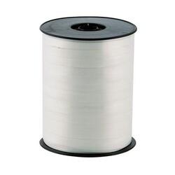 Bolduc satiné blanc 7,5 mm (500 m)
