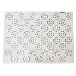 Tapis silicone spécial macarons De Buyer