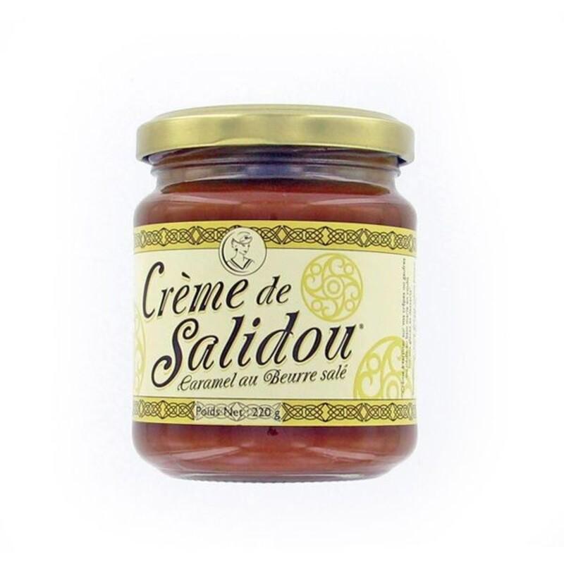 Crème salidou caramel beurre salé 220g