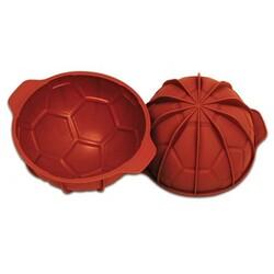 Moule silicone ballon de foot 18 cm