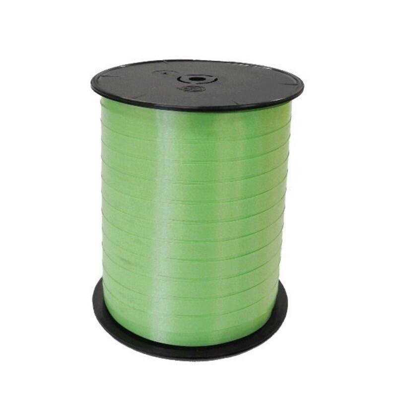 Bolduc satiné vert clair 7mm (500 m)