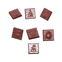 Moule plaquettes chocolat Noël