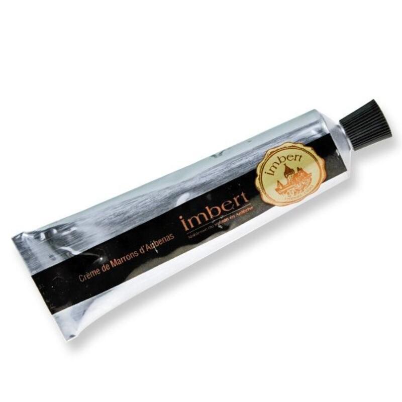 Crème de marrons Imbert tube 80g