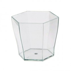 Verrine hexagonale cristal 5,5 cl Very Verrines (x12)