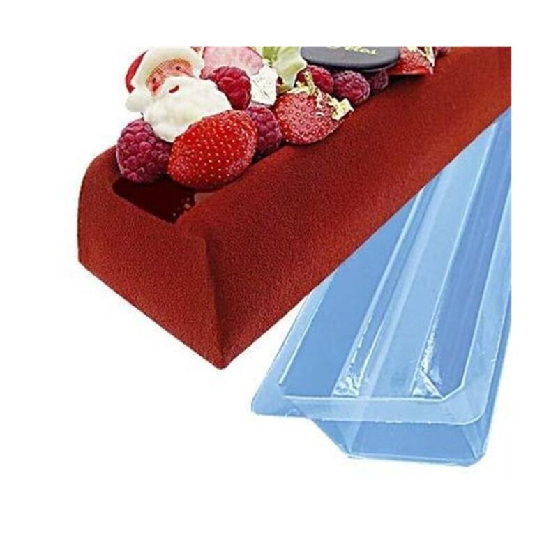 moule a buche pvc fond plat 50 cm x12 cerf dellier. Black Bedroom Furniture Sets. Home Design Ideas