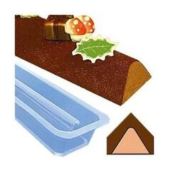 Gouttière à bûchette triangle en pvc (x12)