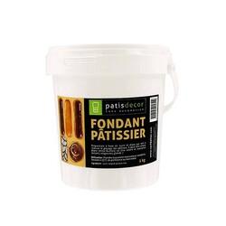 Fondant blanc pâtissier Patisdécor 1 Kg