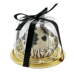 Cloche à cupcake individuelle (x6)