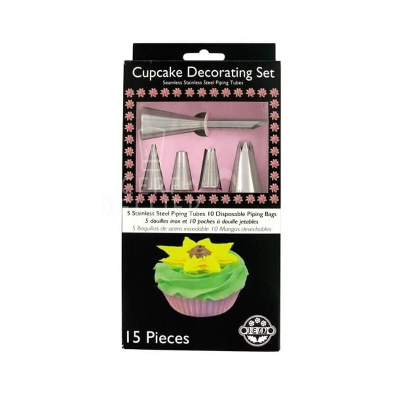 Ensemble de douilles décoration cupcakes