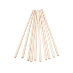 Dowel rods bois pour pièce montée (x12)