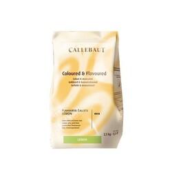 Chocolat Coloré et Aromatisé Citron 2,5 kg