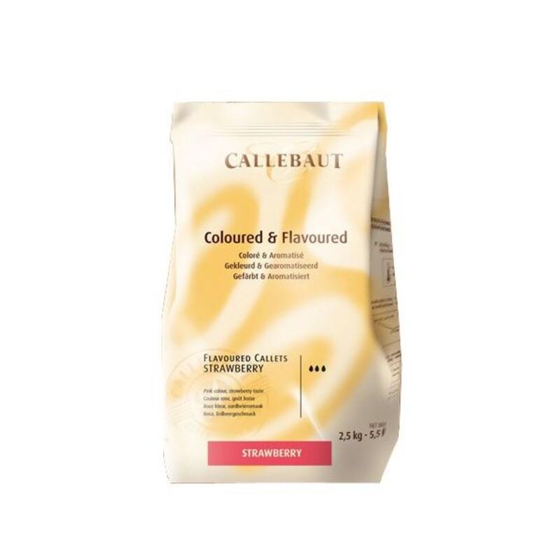 Chocolat Coloré et Aromatisé Fraise 2,5 kg