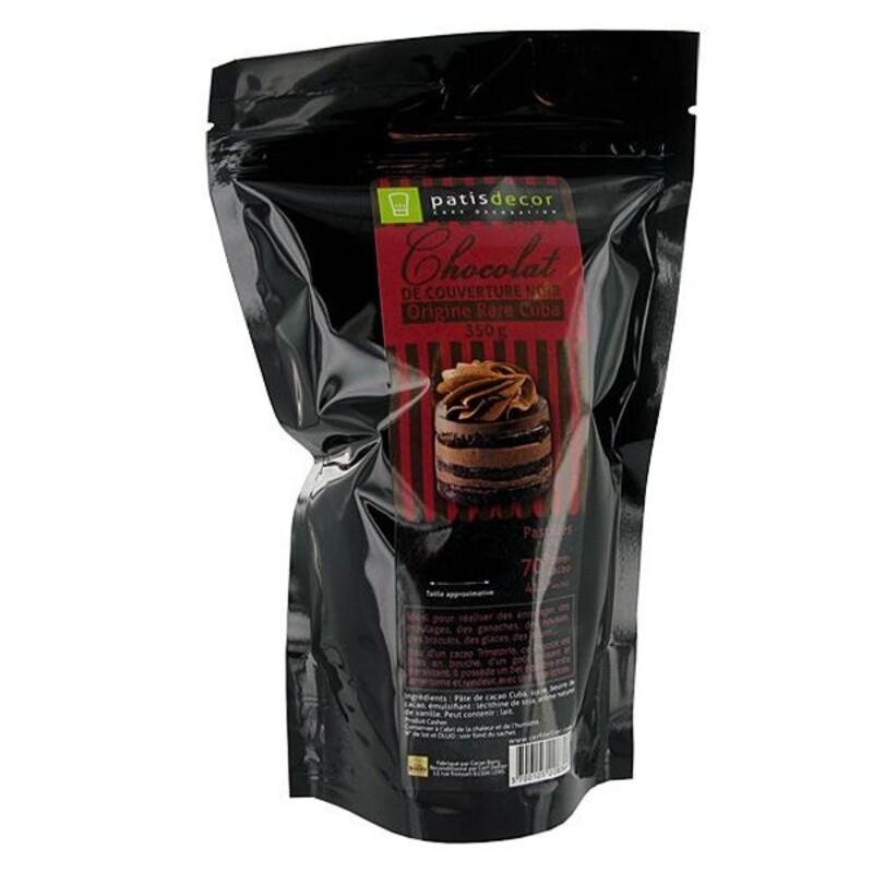 Chocolat Noir origine Cuba Patisdécor
