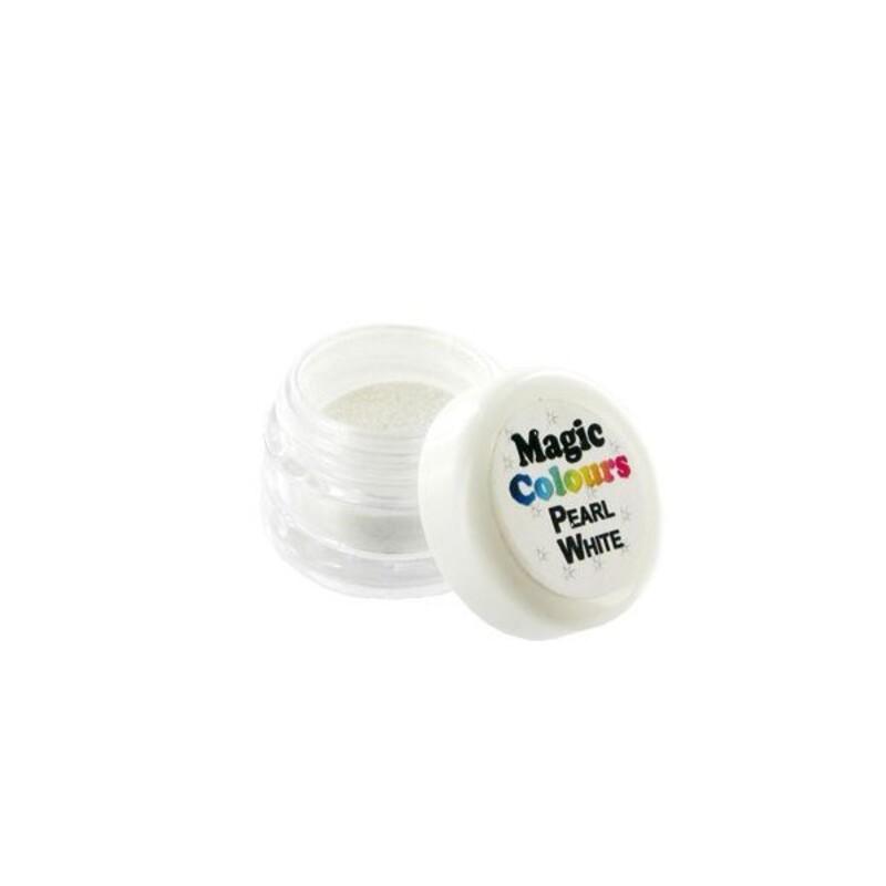 colorant poudre casher perle nacr 5 g - Colorant Alimentaire Blanc