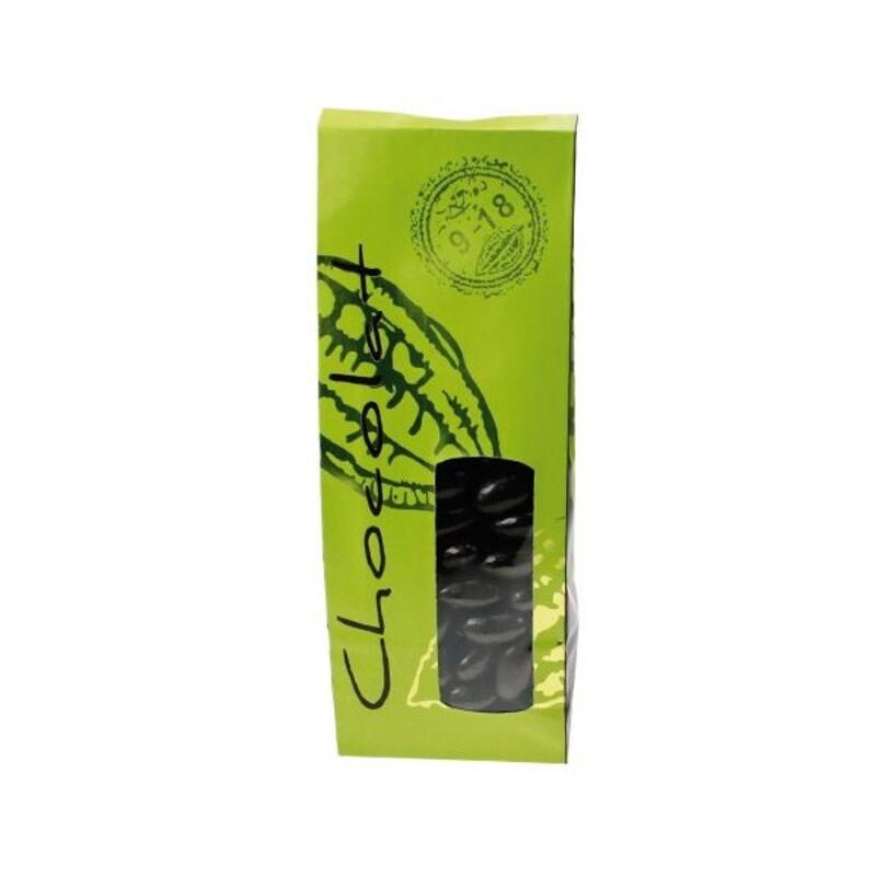 Sachet chocolat Citron Vert 24 cm (x50)