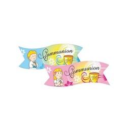 Banderoles Communion assorties (x24)